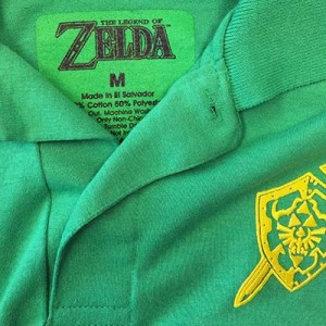 Use a heat transfer to achieve embroidery-like details.