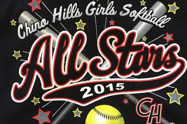 Chino Hills Girls Softball Allstars 2015