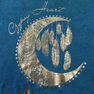 Our master screenprinters achieve highly intricate foil designs